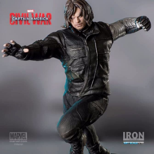 WINTER SOLDIER ART SCALE 1/10 CIVIL WAR