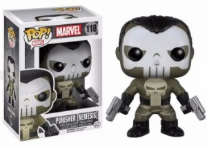 Funko Pop Marvel: Marvel - Punisher (Nemesis) #118