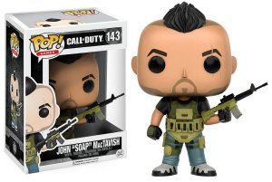 "Funko Pop Games: Call of Duty - John ""Soap"" McTavish #143"