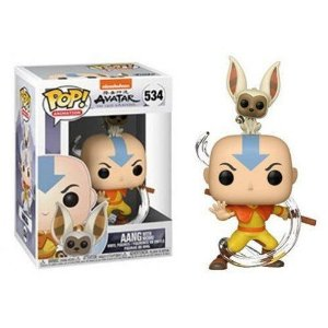 Funko Pop Animation: Avatar The Last Airbender - Aang With Momo #534