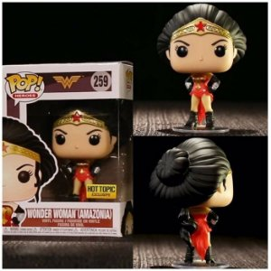 Funko Pop Heroes: Wonder Woman - Wonder Woman (Hot Topic) #259