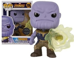 Funko pop Marvel - Thanos Infinity War - Exclusivo - #296