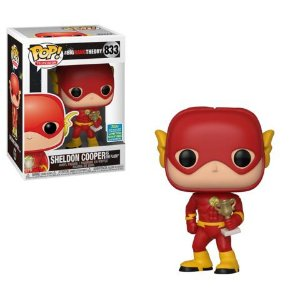 Funko Pop Television: The Big Bang Theory - Sheldon Cooper as The Flash (Summer Covention) #833