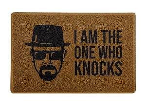 Capacho 60x40cm I Am The One Who Knocks - Breaking Bad