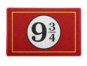 Capacho 60x40cm 9 3/4 - Harry Potter