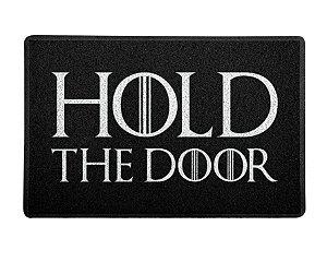 Capacho 60x40cm Hold The Door - Game Of thrones