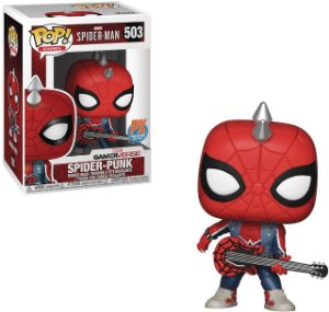 Funko Pop Games: Spider-man - Spider-Punk (Exclusive) #503