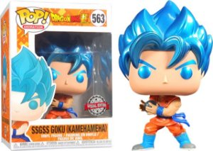 Funko Pop Animation: Dragon Ball - SSGSS Goku (Kamehameha) (Exclusivo) #563