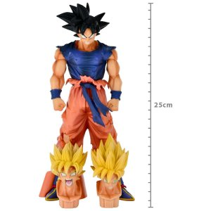ACTION FIGURE: DRAGON BALL SUPER - LEGEND BATTLE - GOKU SUPER SAIYAJIN