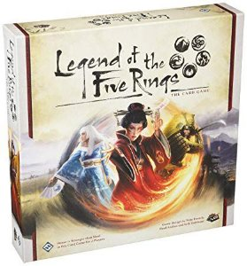 Board Game: Galápagos Jogos - Legends Of The Five Rings Card Game