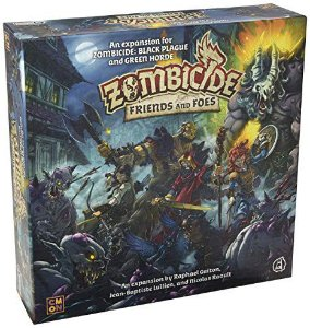 Board Game: Galápagos Jogos - Zombicide Friends and Foes