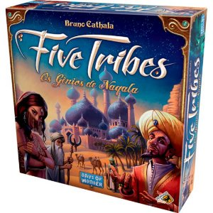 Board Game: Galápagos Jogos - Five Tribes
