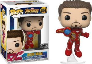 Funko Pop: Avengers Infinity War - Iron Man (Exclusivo) #304