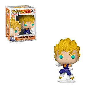 Funko Pop Animation: Dragon Ball Z - Super Saiyan Vegito (Exclusivo) #491
