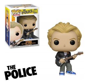 Funko Pop Rocks: The Police - Sting #118