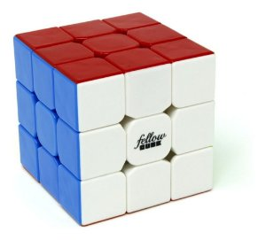 Cubo Mágico Profissional 3x3x3 Fellow Cube Color