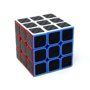 Cubo Mágico Profissional 3x3x3 Fellow Cube Carbon