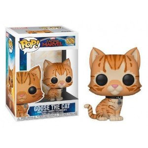 Funko Pop: Captain Marvel - Goose The Cat (Flocked) (Exclusive) #426