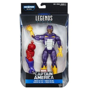 Cottonmouth Marvel Legends Series | Captain America - Baf Monte o Red Skull