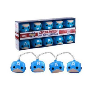 Funko Pop Party String Lights : Captain América