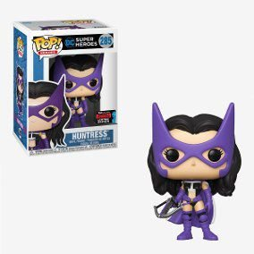 Funko Pop Heroes: Dc Super Heroes - Huntress (Exclusivo) #285