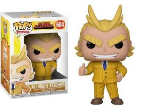 Funko Pop Animation: My Hero Academia - All Might (Teacher) #604