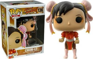 Funko Pop Games: Street Fighter - chun-li #136 (Excl.)