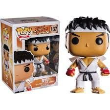 Funko Pop Games: Street Fighter - Ryu #137 (Excl.)