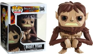Funko Pop Animation: Attack On Titan - Beast Titan #504