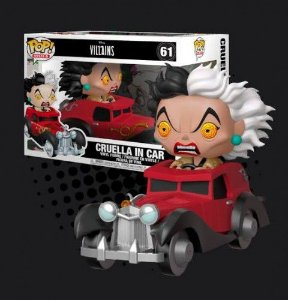 Funko Pop Rides: Villains - Cruella In Car #61