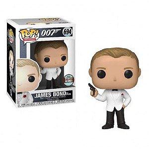 Funko Pop! Movies: James Bond- Daniel Craig (Spectre) Specialty
