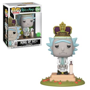 Funko Pop Animation: Rick And Morty - King Of S#!+ *Excl* #694