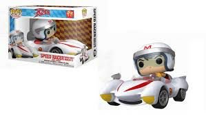 Funko Pop Animation: Speed Racer - Speed Racer With The Mach *Ride* #75