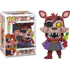 Funko Pop Games: Five Nights At Freddy Pizza Simulator - Rockstar Foxy #363