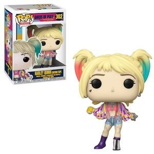 Funko Pop Heroes: Birds Of Prey Harley Quinn Caution Tape  #302