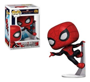 Funko Pop Marvel: Spider-Man Far From Home - Spider-Man Upgraded Suit #470