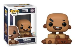 Funko Pop Rocks: BT21 - Shooky #684