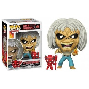 Funko Pop Rocks: Iron Maiden - The Number Of The Beast Eddie #145