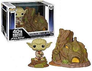 Funko Pop Town: Star Wars - Dagobah Yoda With Hut #11