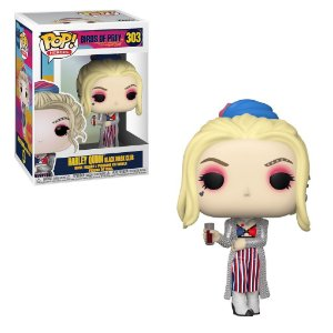 Funko Pop Heroes: Birds Of Prey Harley Quinn Black Mask Club   #303