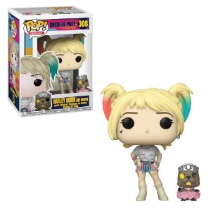 Funko Pop Heroes: Birds Of Prey Harley Quinn and Beaver #308
