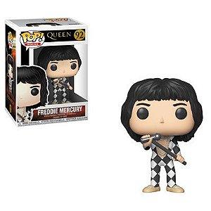 Funko Pop Rocks : Queen Freddie Mercury (Checker)  #92