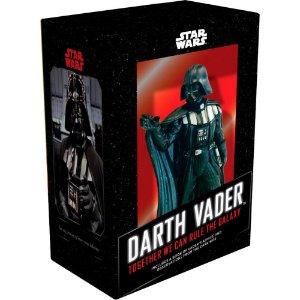 Estátua Darth Vader  Star Wars + Livro