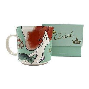 A Pequena Sereia - Ariel Caneca