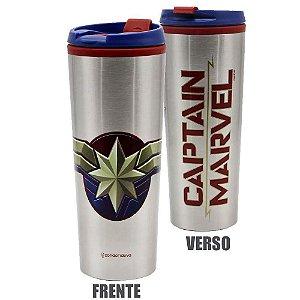 Capitã Marvel - Copo Térmico