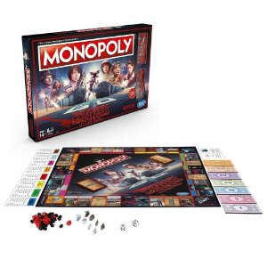 Jogo Monopoly Stranger Things Boardgame Hasbro