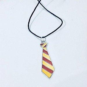Gravata Grifinória Colar - Harry Potter