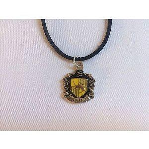 Escudo Lufa-Lufa Colar - Harry Potter (P)