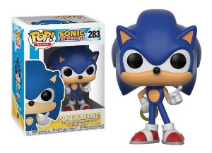 Funko Pop! Games: Sonic The Hedgehog - Sonic W/ Ring #283