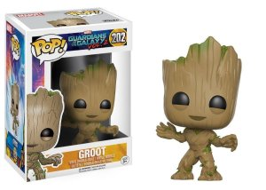 Funko Pop! Movies: Guardians Of The Galaxy VOL.2 - Baby Groot #202